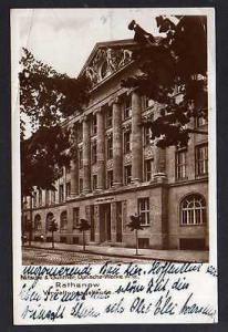 Ansichtskarte Rathenow Nitsche & Günther Optische Werke Verwaltungsgebäude 1929