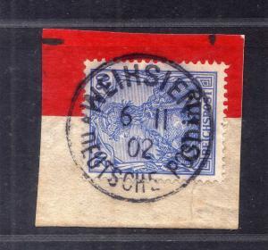 B2554 DP in China 18 Luxus Briefstück Weihsin