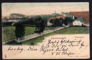 Ansichtskarte Christiansfeld Panorama 1902