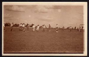 Ansichtskarte Deutsche Gefangene 1914 Fußball Nairobi