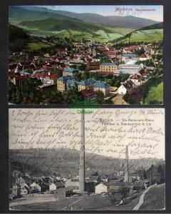 2 Ansichtskarte Sainte-Marie-aux-Mines Markirch1914 Fabrique A. Baumgartner & Cie.