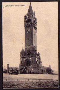 Ansichtskarte Berlin 1919 Wilhelmsturm im Grunewald