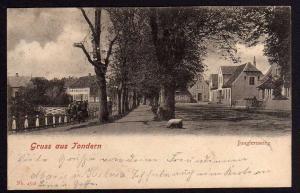 Ansichtskarte Tondern Jungfernstieg 1902 Tønder