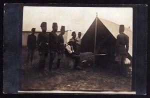 Ansichtskarte DOA Eisenbahn Station Uganda Bahn 1914 Gericht