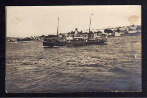 Ansichtskarte Türkei Militärmission Constantinopel Marmarameer Dampfer um 1915
