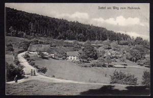 Ansichtskarte Sattel am Weg zum Hohneck Colmar Feldpost 1916