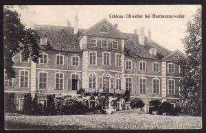 Ansichtskarte Schloss Ollweiler bei Hartmannsweiler1915 Feld