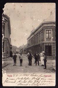 Ansichtskarte Varde Vestergade 1904