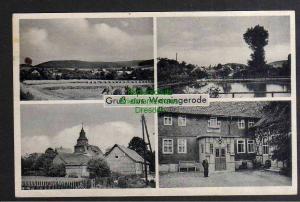 Ansichtskarte Werningerode über Bleicherode Sonnenstein 1940 Gasthaus Eiche Kirche