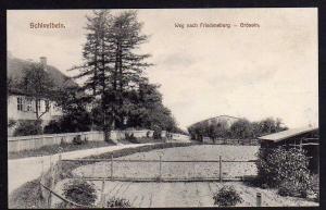 Ansichtskarte Swidwin Schivelbein um 1910 Weg nach Friedensburg Grössin