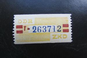 DDR ZKD Dienstmarken Wertstreifen B 25 T ** Original !!!