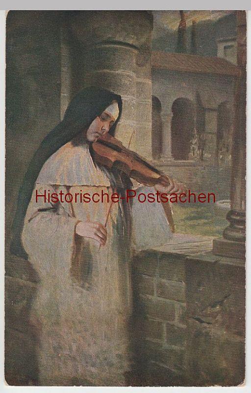 (50642) Künstler AK Hermann Kaulbach: Ave Maria, vor 1945