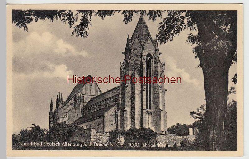 (49279) AK Bad Deutsch Altenburg, 1000jährige Kirche, 1963
