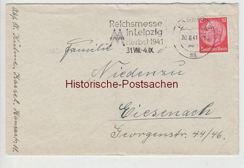 (B2316+) Bedarfsbrief DR, Stempel Kassel 7, 1941