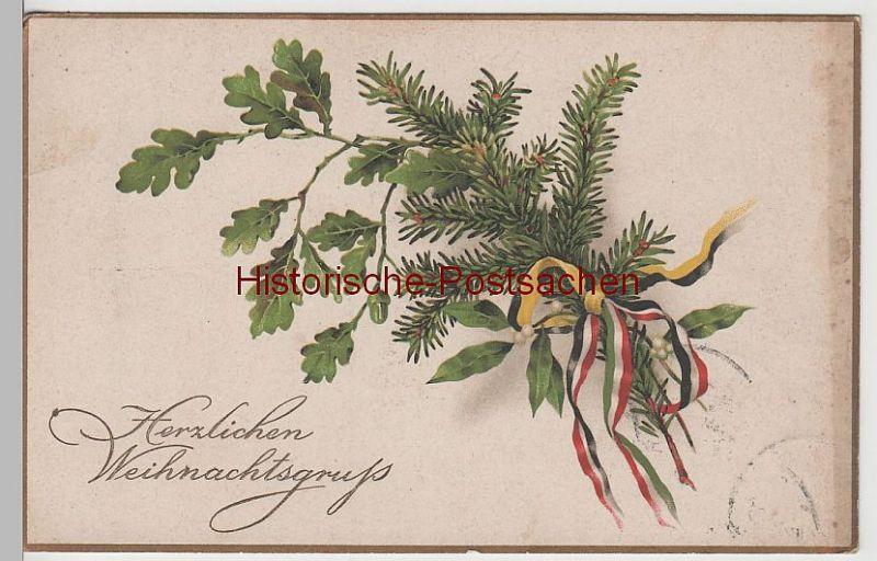 (72227) AK Herzlichen Weihnachtsgruß, vor 1918