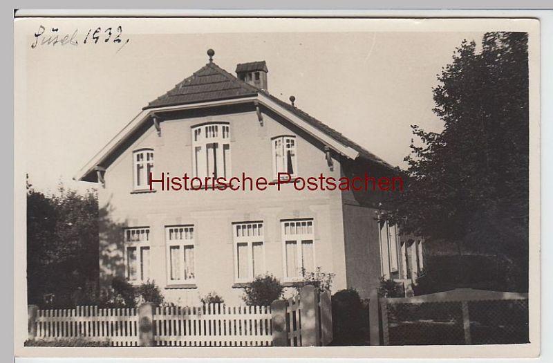 (59625) Foto AK Süsel, Wohnhaus 1932