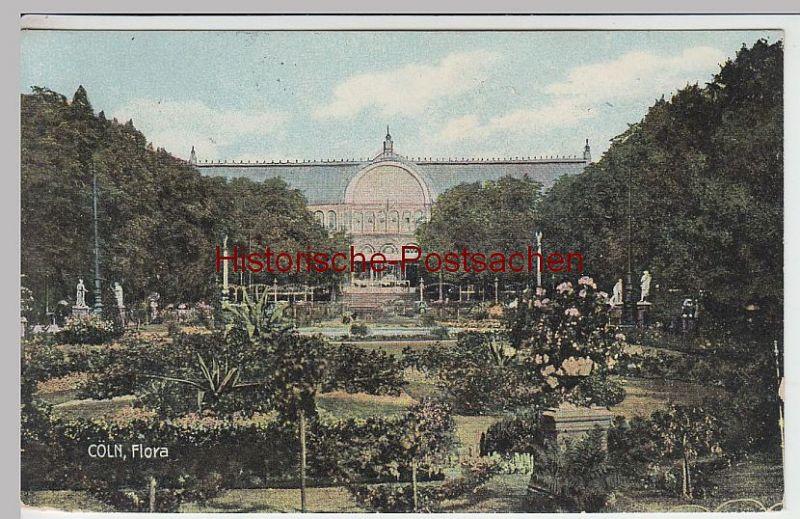 (42099) AK Köln, Flora, um 1909
