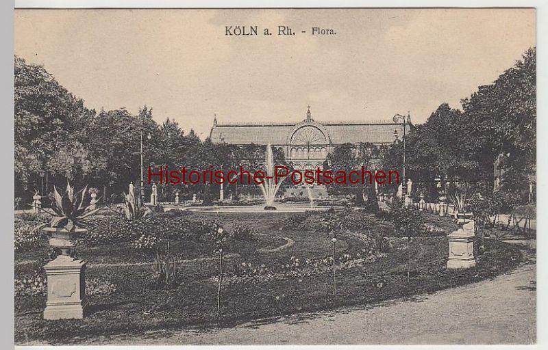(57897) AK Köln, Flora 1914