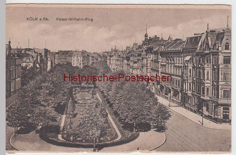 (62615) AK Köln, Kaiser Wilhelm-Ring, aus Leporello vor 1945