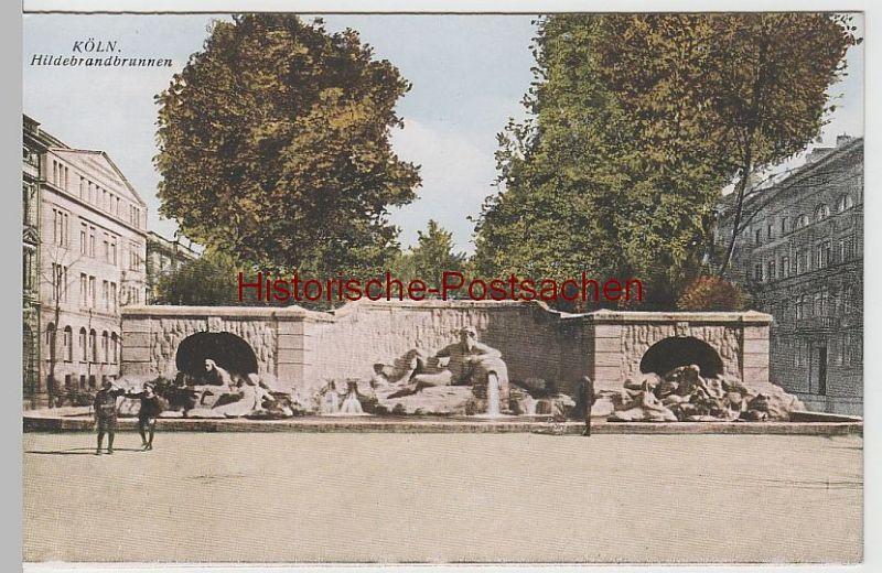 (65679) AK Köln, Hildebrandbrunnen vor 1945