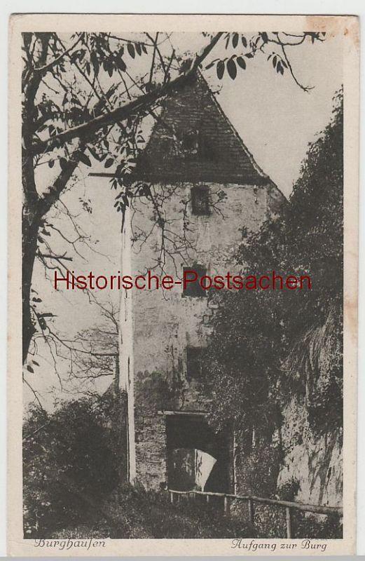 (65938) AK Burghausen, Aufgang zur Burg