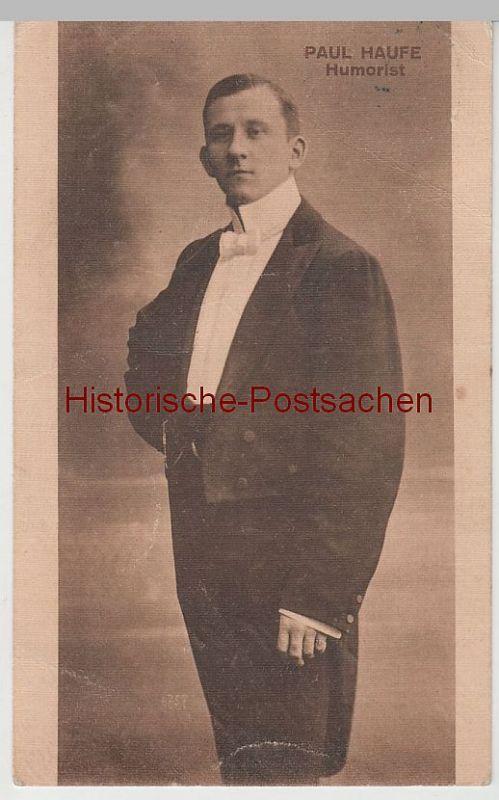(77397) AK Paul Haufe, Humorist 1913