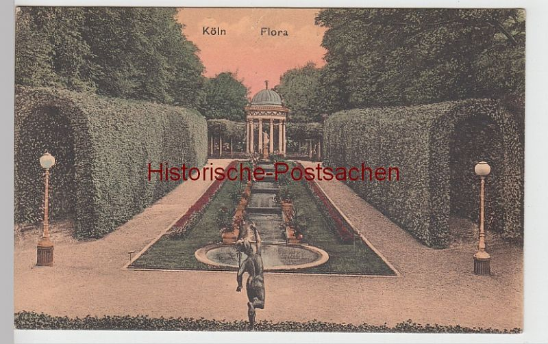 (95232) AK Köln, Flora, vor 1945