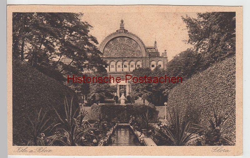 (100391) AK Köln, Flora, vor 1945