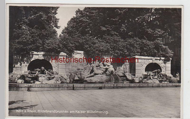 (101788) Foto AK Köln, Hildebrandbrunnen am Kaiser Wilhelm-Ring, 1930