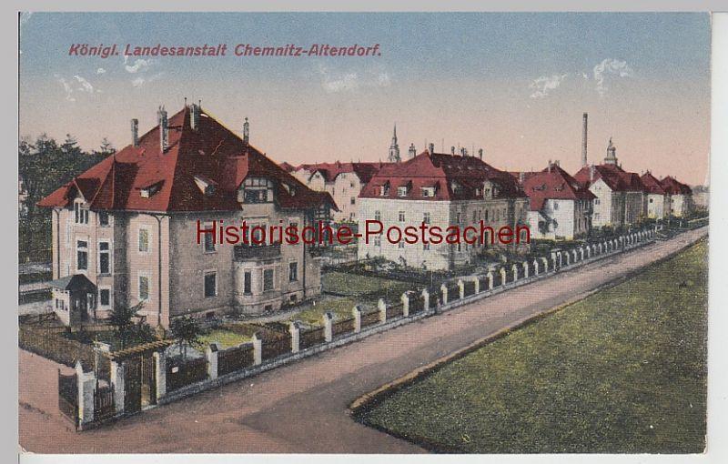 (111479) AK Chemnitz Altendorf, Königl. Landesanstalt, vor 1945