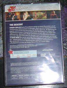 DVD The Descent  Abgrund des Grauens
