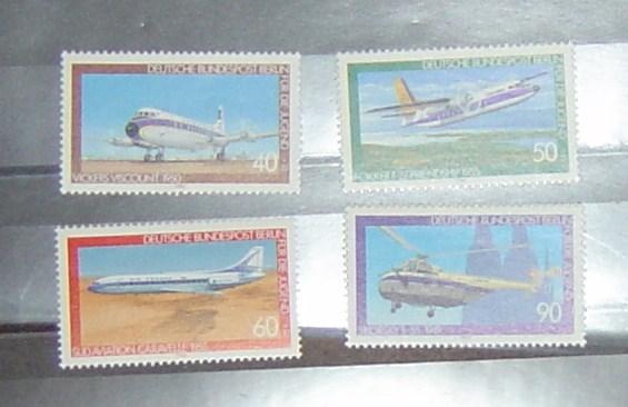 Berlin 1980 Michel Nr. 617-620 postfrisch Jugend Luftfahrt Michel 2010/2011 Preis 5,- Euro