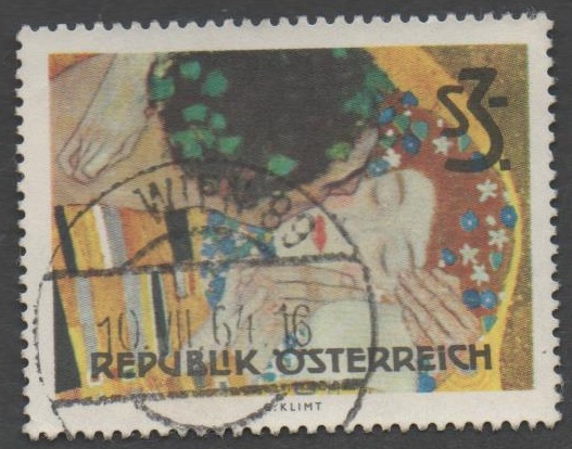 1964 Österreich / Austria Mi.Nr. 1154 gestempelt 300 Groschen Gemälde