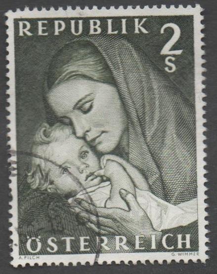 1968 Österreich MiNr. 1260 gestempelt 2 Schilling Muttertag