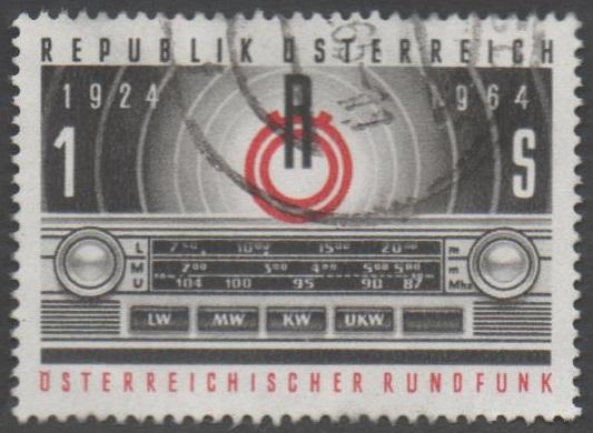1964 Österreich MiNr. 1174 gestempelt 100 Groschen 40 Jahre Österreichischer Rundfunk