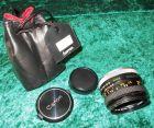 Objektiv Canon Lens FD 50 mm 1:1,8 mit Etui