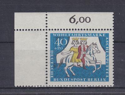 Germany Berlin 1965 Mi 269 ** MNH Wohlfahrt Gebrüder Grimm Märchen ECKE 2