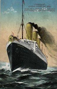 foto ansichtskarte vaterland gr tes schiff der welt 1914 nr 2918 oldthing schiffe. Black Bedroom Furniture Sets. Home Design Ideas