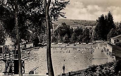 ansichtskarte schwimmbad elsterberg ca 1955 nr 7398 oldthing ansichtskarten deutschland. Black Bedroom Furniture Sets. Home Design Ideas