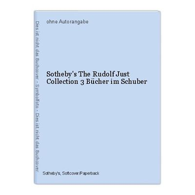 Sotheby's The Rudolf Just Collection 3 Bücher im Schuber