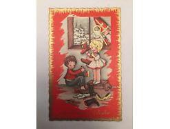 Gruß vom Nikolaus ungelaufen 19008