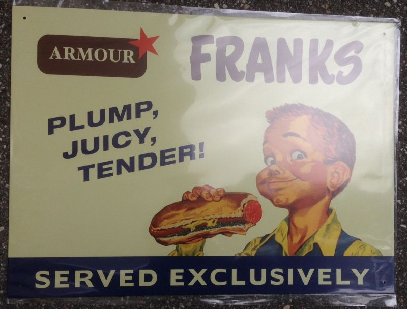 Franks served exclusively  30x41 cm     11999