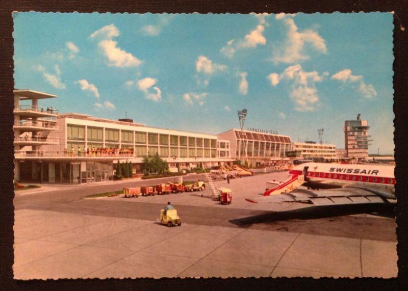 Wien Flughafen Schwechat Swiss Air  11317