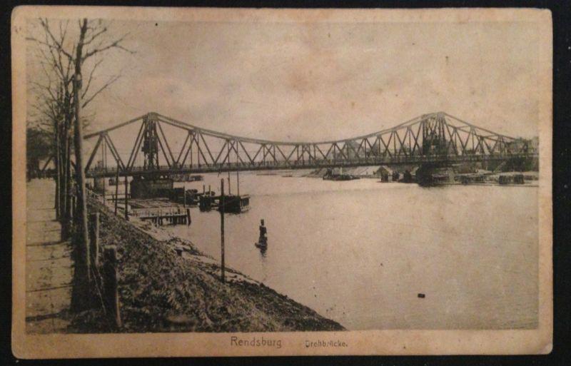 Rendsburg Drehbrücke 10649