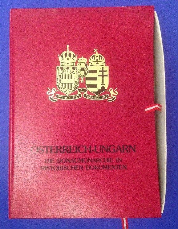 Österreich ungarn die Donaumonarchie in historischen Dokumenten Fotografische Fa