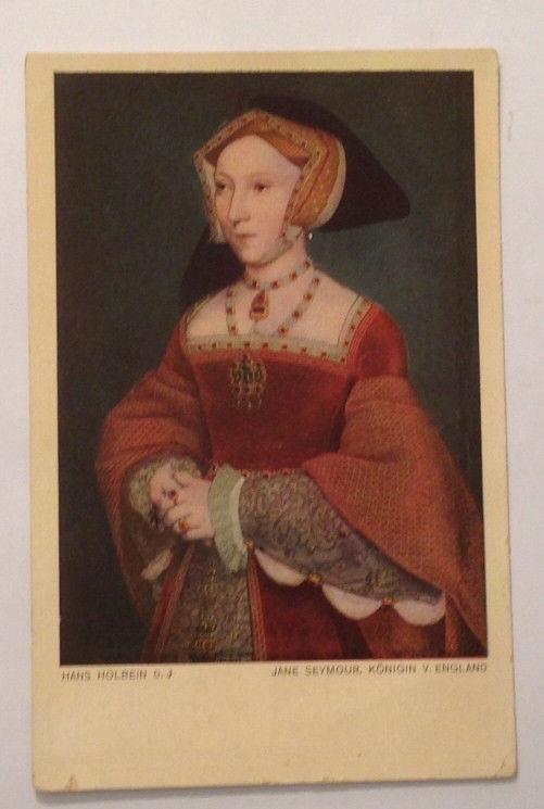 Künstlerkarte Hans Holbein  Jane Seymour Königin von England  11250