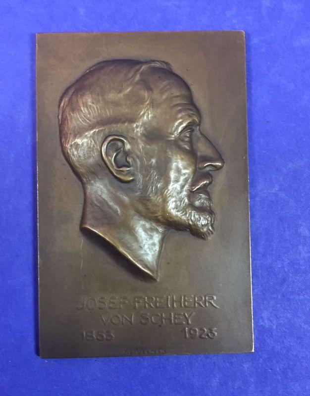 Rarität Josef Freiherr von Schey Bronze 17014