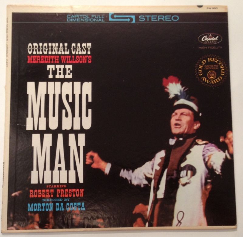 The Music Man Meredith Willson's Robert Preson  11656