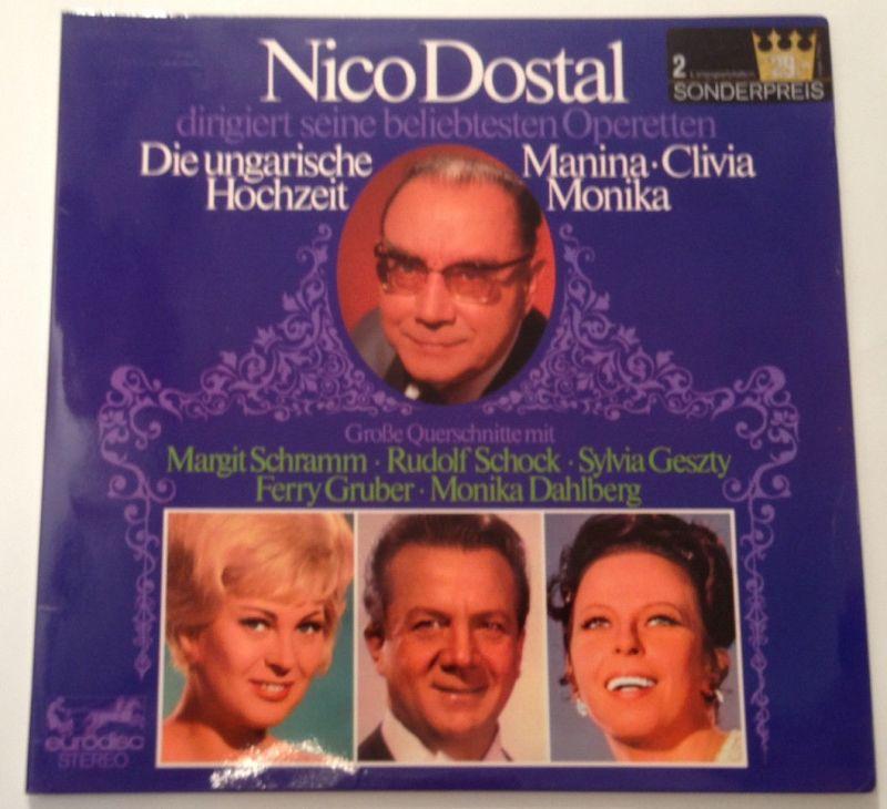 2 x LP Nico Dostal Die ungarische Hochzeit 11655