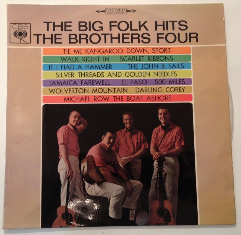 The Big Folk Hits the Brothers Four  11645